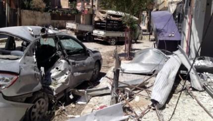 Aleppo damaged by war