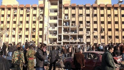 2013.01.16 - Explosions in Aleppo kill students in the first day of exams 2