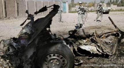 2013.01.29 - NATO Convoy attacked by suicide bomber