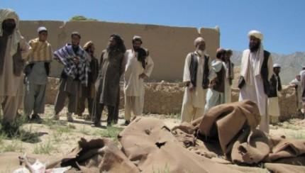 2013.04.08 - Civilians killed in NATO airstrike