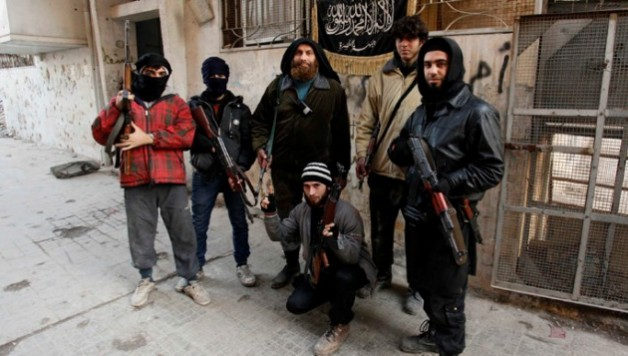 Members of Islamist Syrian rebel group Jabhat al-Nusra (Reuters/Molhem Barakat)