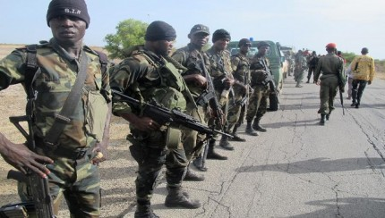 Anti - Boko Haram forces
